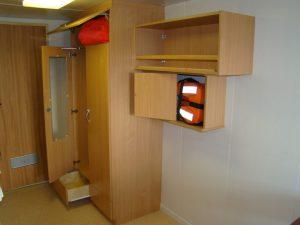drewniane elementy wyposażenia