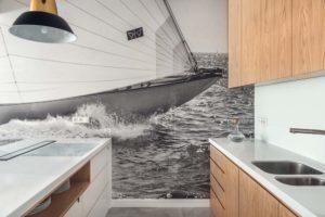 fototapeta na ścianie - jacht