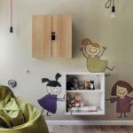 półki wpokoju dziecięcym
