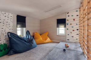 pokój do ćwiczeń dla dzieci